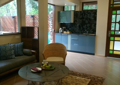 Forest-view Villa -- Ground Floor Wheelchair-Accessible Lounge Area