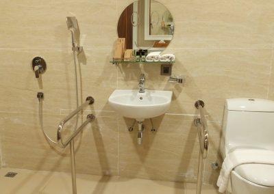 Forest-view Villa -- Ground Floor Wheelchair-Accessible Bathroom