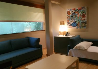 Forest-view Villa -- Upstairs Lounge / 3-Bed Kid's Room