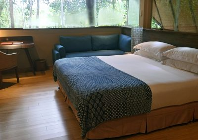 Forest-view Villa -- Upstairs Main Bedroom