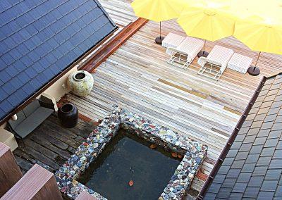 Pool view from Ocean Suites