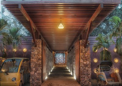 Welcome Pavilion walkway