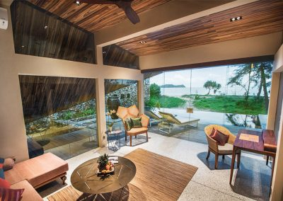 Beach Front Villa Living Room